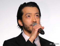 映画『新宿スワンⅡ』の初日舞台挨拶に出席した金子ノブアキさん 2017年