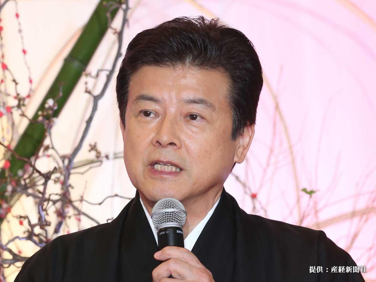 ドラマ『就活家族』の制作発表に出席した三浦友和さん 2017年