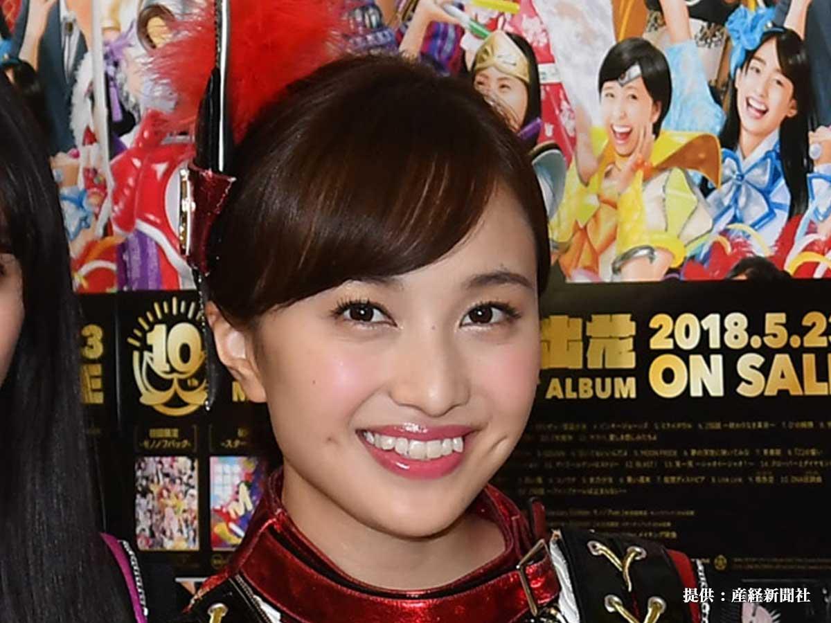 10周年のコンサートを行った『ももいろクローバーZ』の百田夏菜子さん 2018年