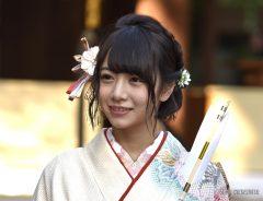ゆかりある乃木神社で成人式をおこなった乃木坂46の北野日奈子