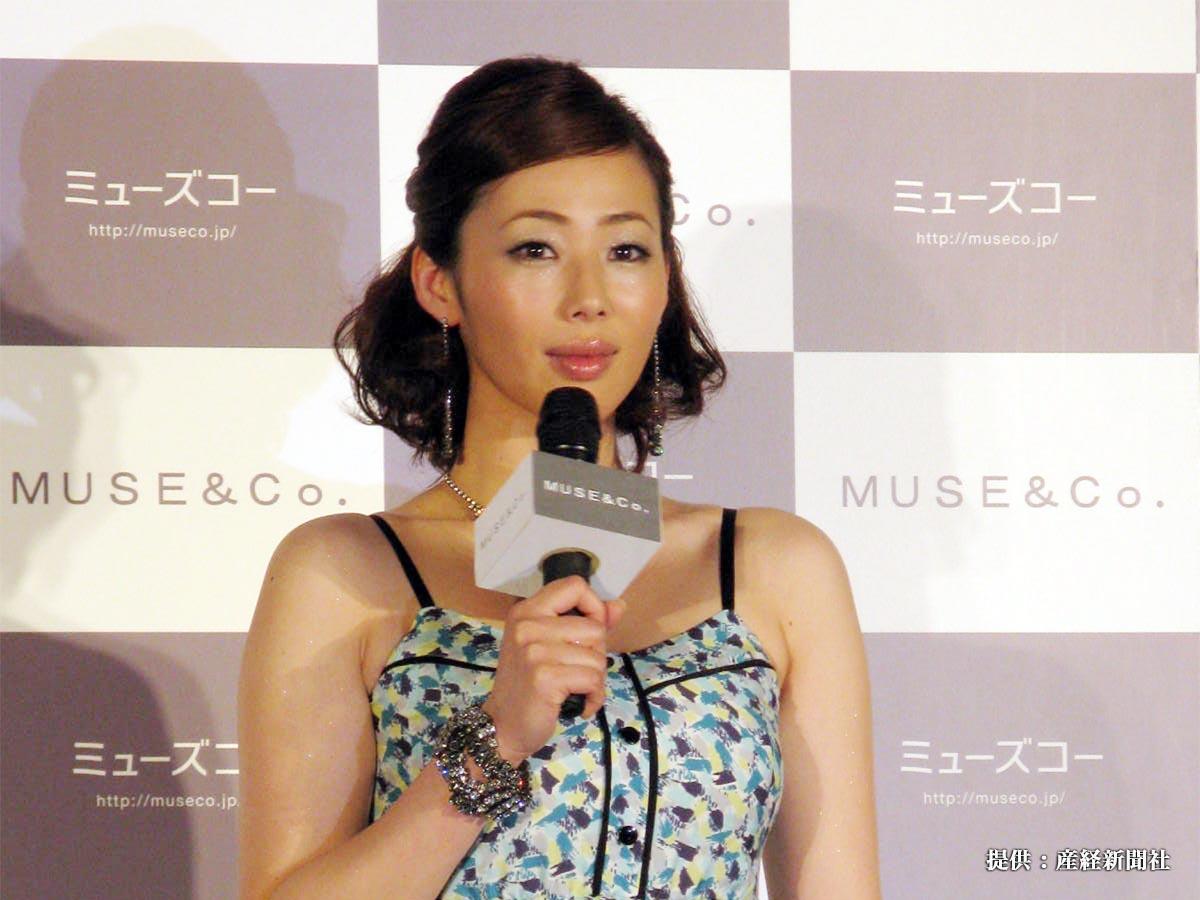 女性向けファッション通販サイト「MUSE&Co.」のPRイベントに出席した女優の井上和香