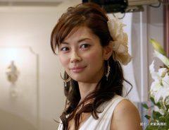 ブログ本出版記念のクリスマスパーティーを行った、女優の伊東美咲