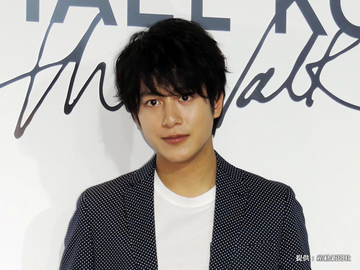 ファッションブランド「マイケルコース」のイベントに出席した俳優の溝端淳平
