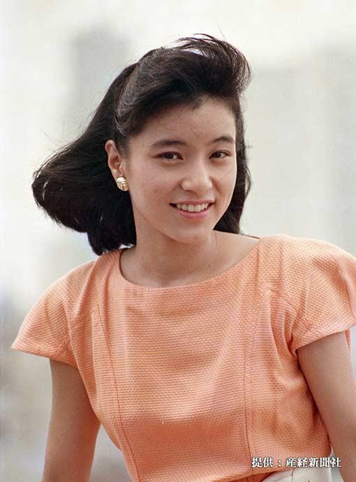 八木亜希子 1988年