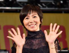 デビュー30周年記念のアルバム発売イベントに登場したタレントの渡辺満里奈