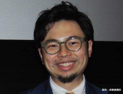 映画『体脂肪計タニタの社員食堂」』試写会で舞台挨拶を行なった浜野謙太 2013年