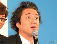 米アニメ映画「ボス・ベイビー」の日本語吹き替え版完成報告会見に出席した俳優のムロツヨシ