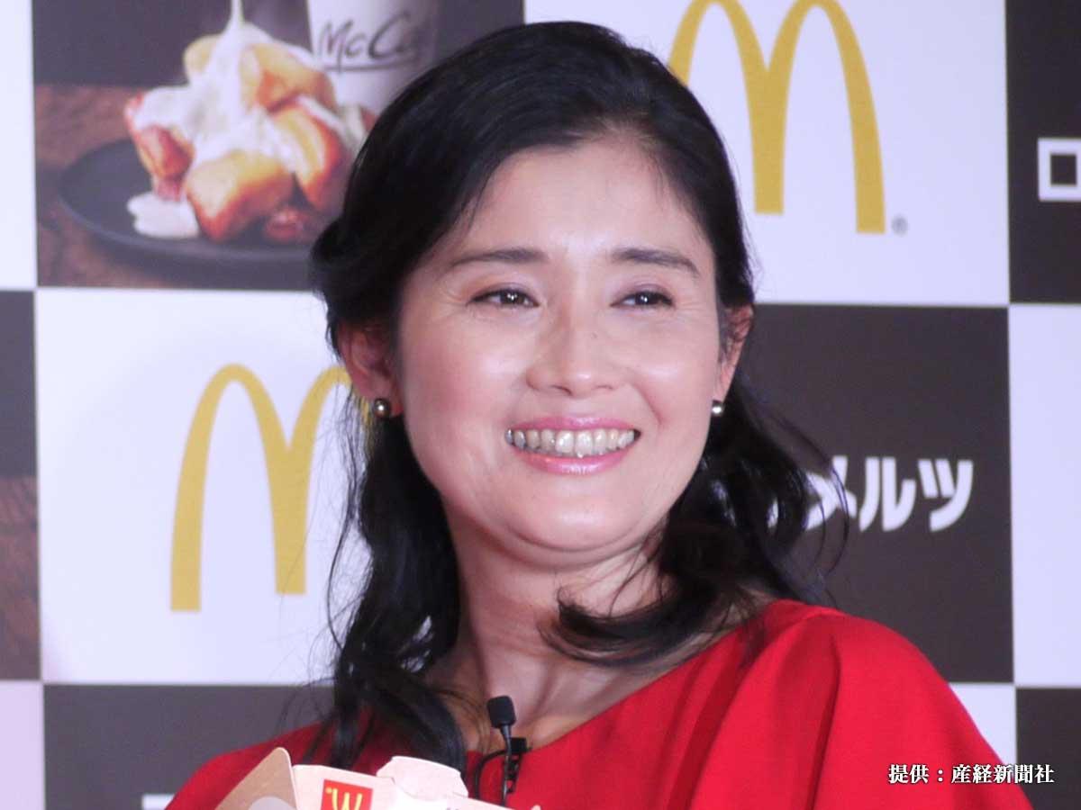 マクドナルドのキャンペーン『HOT JAPAN』発表会に出席した石田ひかり 2017年