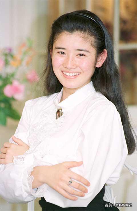 石田ひかり 1990年