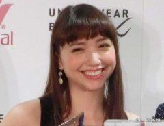 『UNDER WEAR BY CW-X presents 仕事アスリートアワード授賞式』に出席した豊田エリー 2015年
