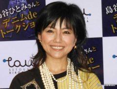 『デニムdeトークショー』に出演した島谷ひとみ 2018年