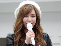 初アルバム『STAR-T!』の発売イベントを行った河西智美 2017年
