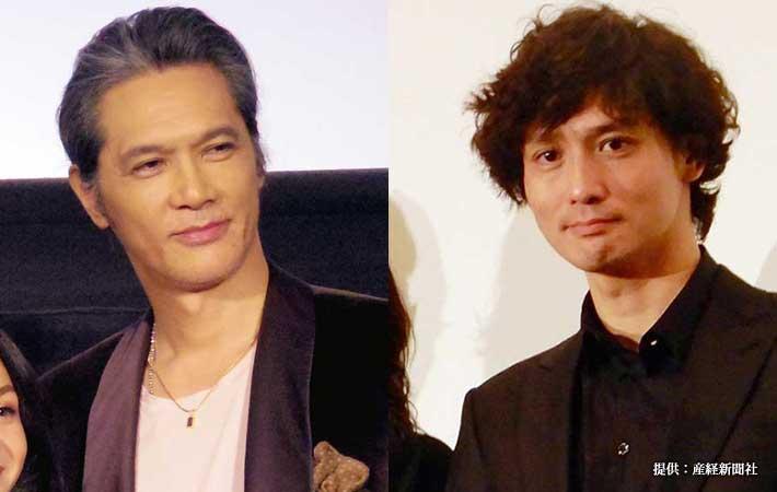 加藤雅也(写真左)と安藤政信(写真右)