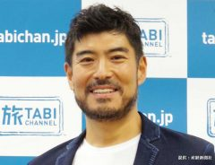 『髙嶋政宏の旅番長』の記者会見に出席した髙嶋政宏 2018年