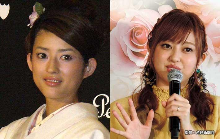 小沢真珠(写真左)と菊地亜美(写真右)