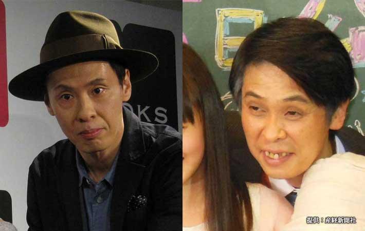 大倉孝二(写真左)と森下能幸(写真右)