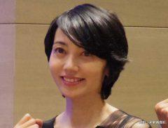 映画『武蔵|むさし|』の完成披露試写会に出席した遠藤久美子 2019年