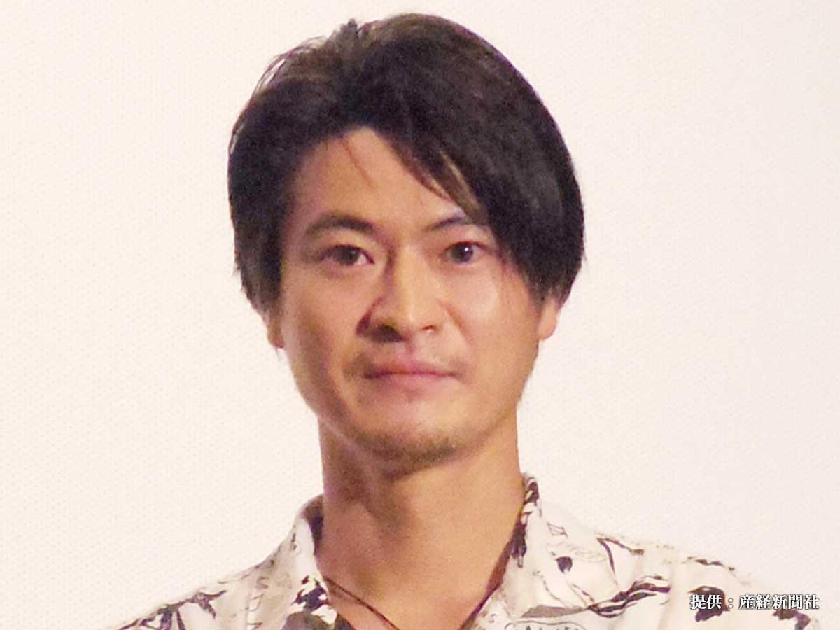 映画『スカブロ』の初日舞台挨拶に登壇した窪塚俊介 2018年