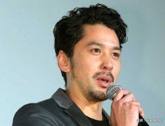映画『新宿スワンⅡ』の初日舞台挨拶に臨む深水元基 2017年