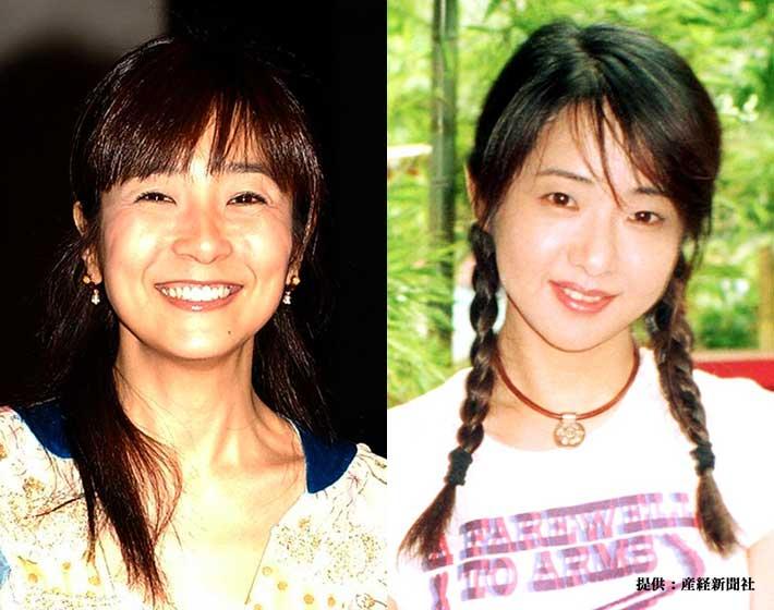 右 藤田朋子 2005年 左 美保純 2002年