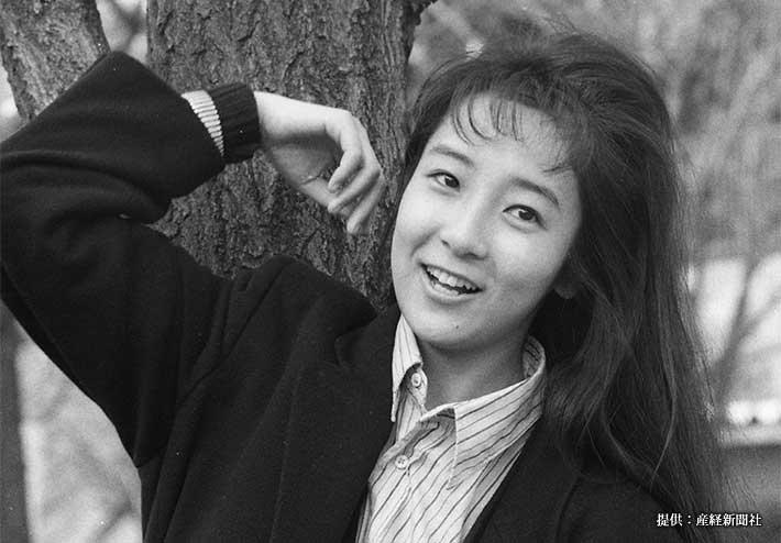 連続テレビ小説『ノンちゃんの夢』でヒロインを務めた藤田朋子 1988年