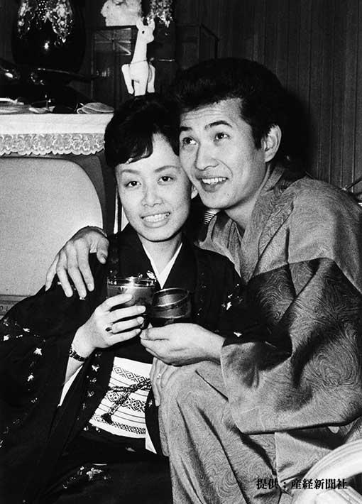 美空ひばり・小林旭夫妻 1962年