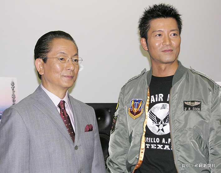 左から水谷豊、寺脇康文 2008年