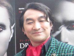 舞台「ドン・ドラキュラ」の公開舞台けいこに参加した池田鉄洋