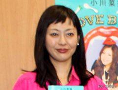 小川菜摘の著書『LOVE BLOG』の発売イベントにゲストで登場した小日向しえ
