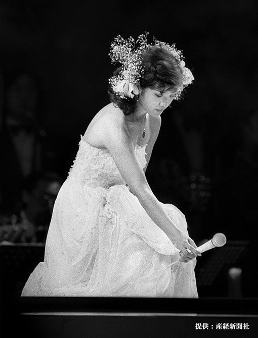 ファイナルコンサートの山口百恵 1980年