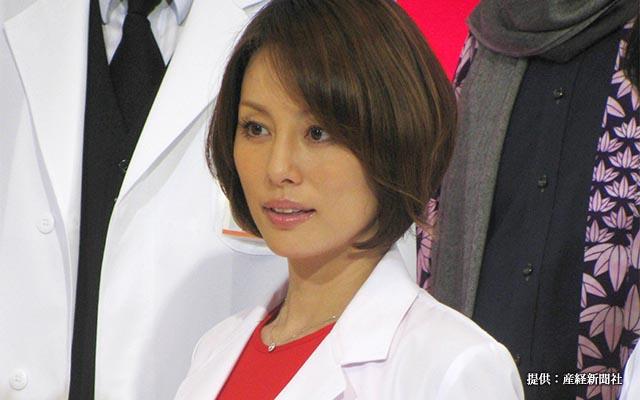 米倉涼子の離婚の原因は何? 旦那との関係や、子供の存在は