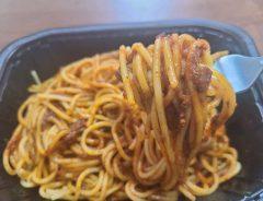 セブンイレブンの冷凍食品でマンガ飯 スパゲティにミートボールを混ぜると?