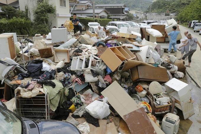 豪雨 被害 ごみ 愛媛県 宇和島市