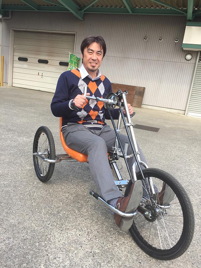 ハンドバイク 宇賀神一弘 宇賀神溶接工業所 ハンドバイクジャパン