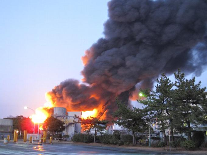 製油所 市原市消防局