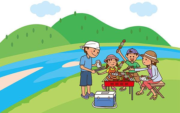 夏休み! 家族や友達と「BBQ(バーベキュー)」で盛り上がろう!