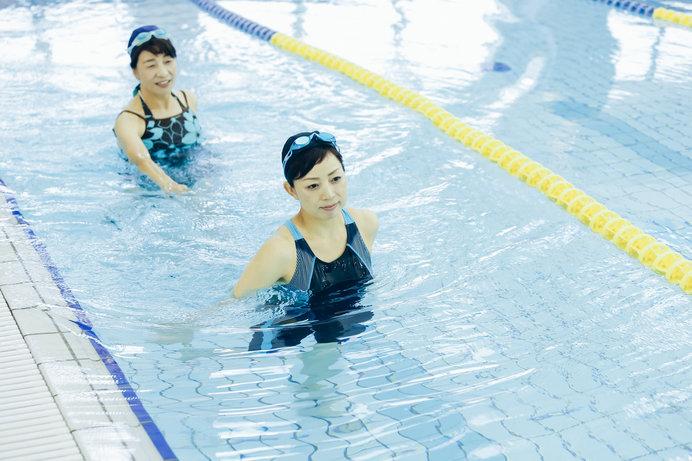 水中ウォーキングで代謝をアップ