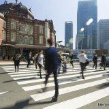 東京駅の写真に写り込んだ『奇跡』 撮影者が「連絡ください」と呼びかける